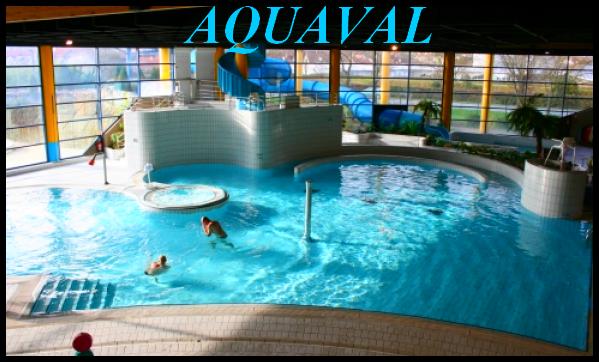 Aquaval centre aquatique for Piscine gaillon